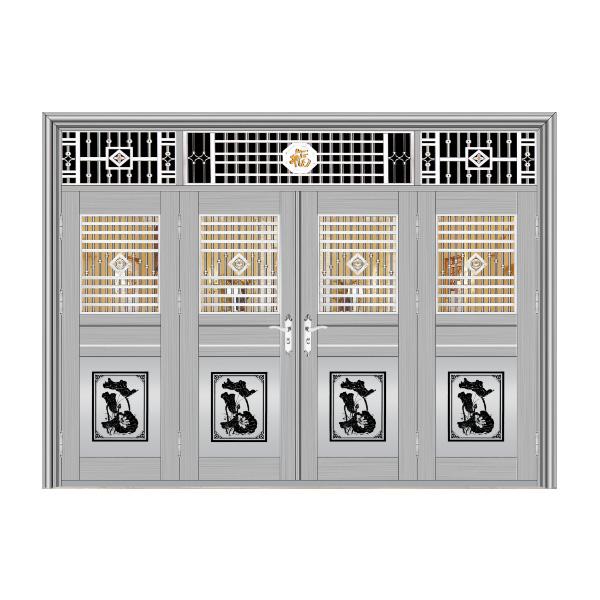 不锈钢门四扇门