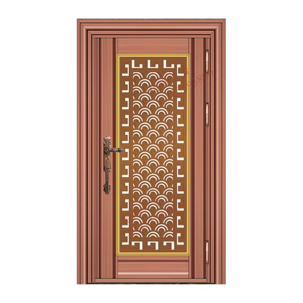 不锈钢彩板门 1053