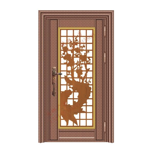 不锈钢彩板门 1055