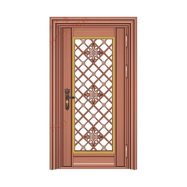 不锈钢彩板门 1052