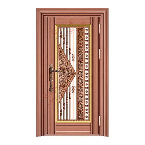 不锈钢彩板门 1035