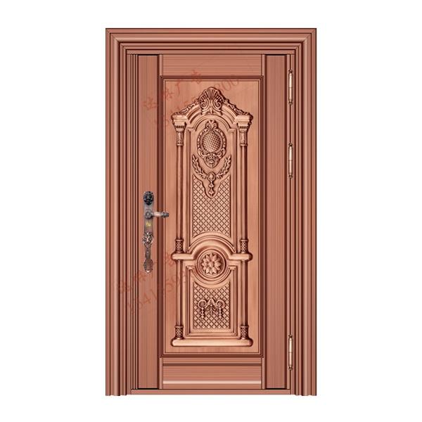 不锈钢彩板门 1014