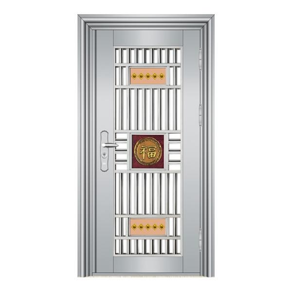 仿铜门生产厂家告诉你:不锈钢大门的选择和清洁安装
